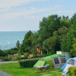 Emplacement panorama vue mer  - Camping Bretagne Nord