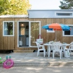 Location - Camping Baie de Paimpol - Tiny Home - Image non contractuelle